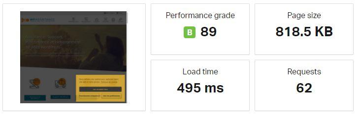 Charger un site en moins de 500ms, avec un constructeur de page, c'est possible !!!